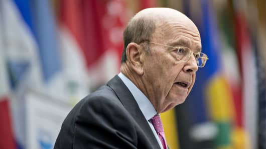 Wilbur Ross, U.S. commerce secretary, speaks during the 47th annual Washington Conference on the Americas at the U.S Department of State in Washington, D.C.
