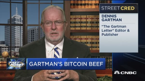 Gartman's bitcoin beef