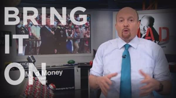 Cramer Remix: Your No. 1 stock for when Trump can't get anything done