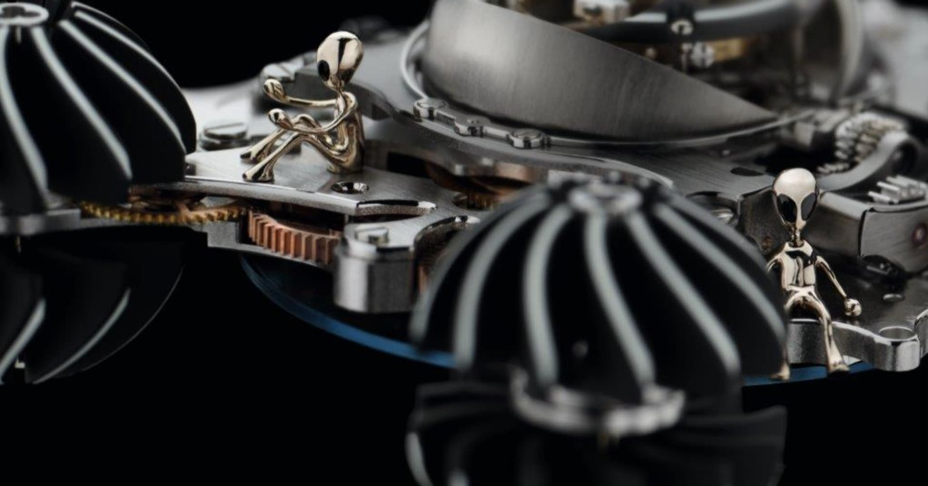 MB&F Horological Machine No. 6 Alien Nation watch