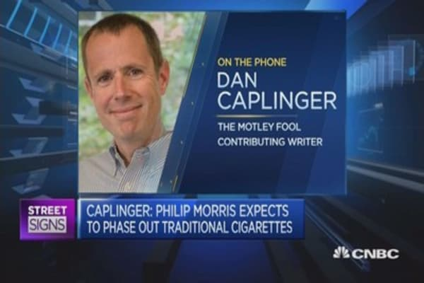 Philip Morris wants to phase out the traditional cigarette