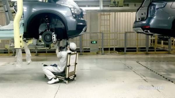 SUV construction in China