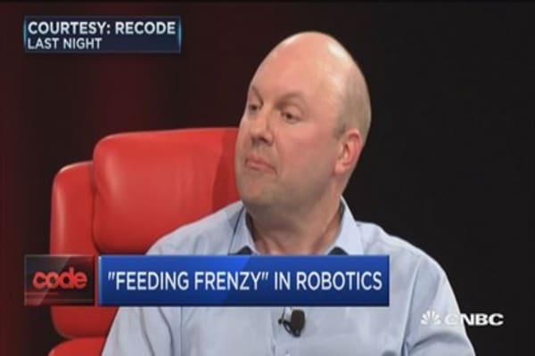 Andreessen: No robot fear