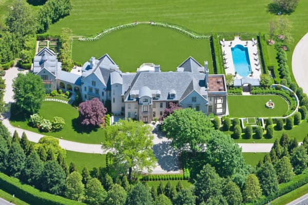 This Hamptons home is listed for $72 million -- the highest on the market this summer