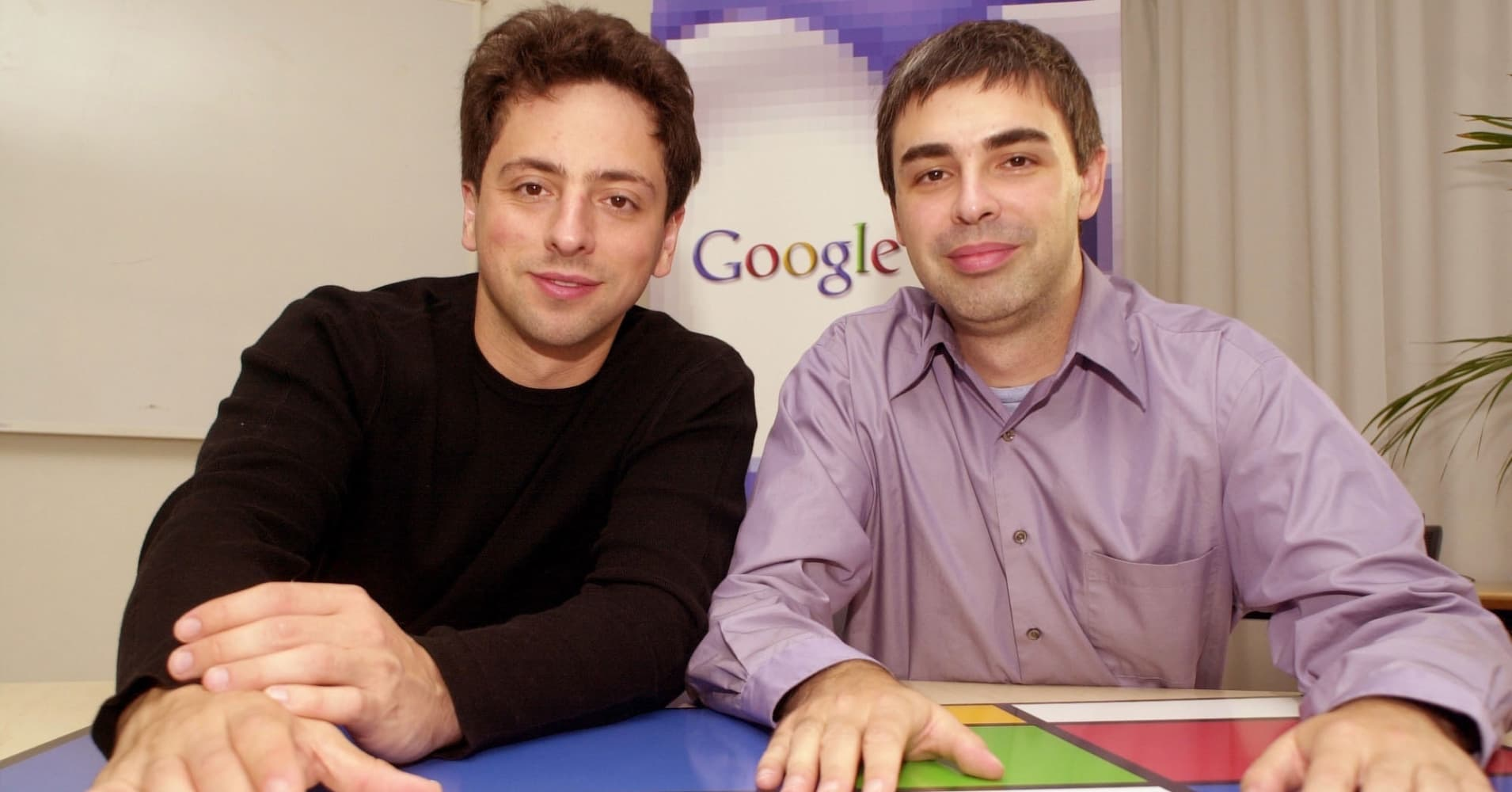 Google's Larry Page and Sergey Brin ask an unusual ...