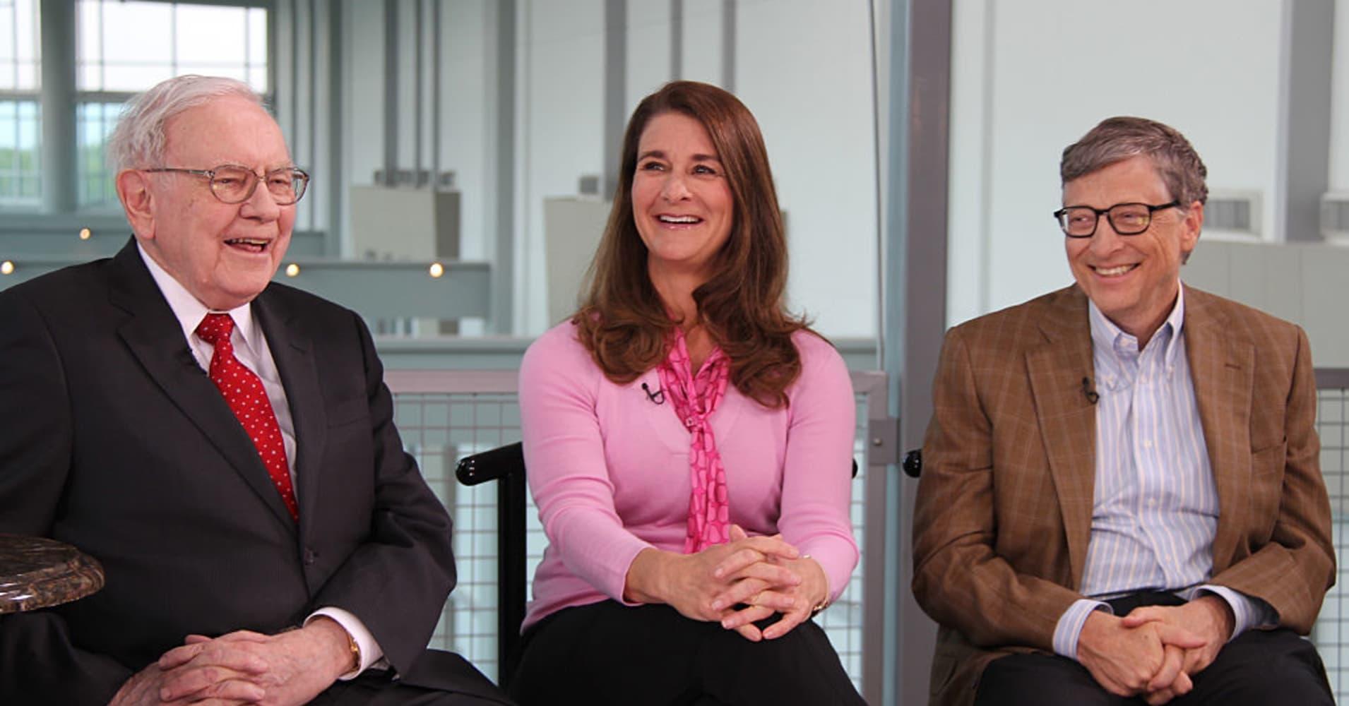 Warren Buffett, Bill and Melinda Gates