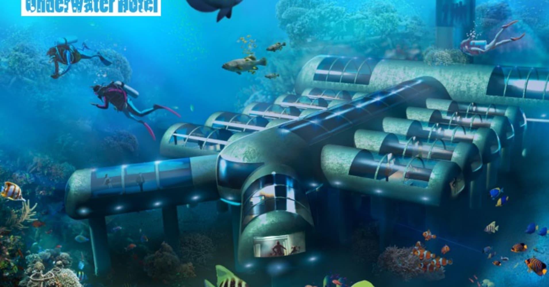 modren underwater hotel hotels miami in decor - miaowan.co