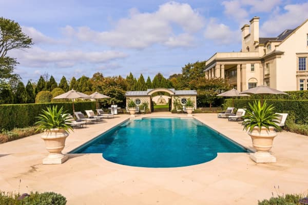 The pool at Villa Maria. Courtesy of Bespoke Real Estate.