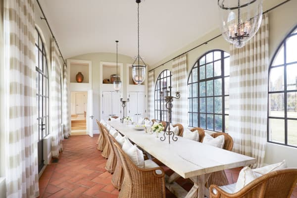 Dining room in Villa Maria. Courtesy of Bespoke Real Estate.