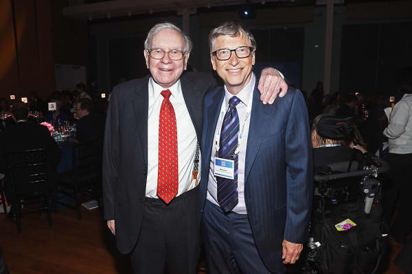 Warren Buffett and Bill Gates are friends and leading voices promoting philanthropy.