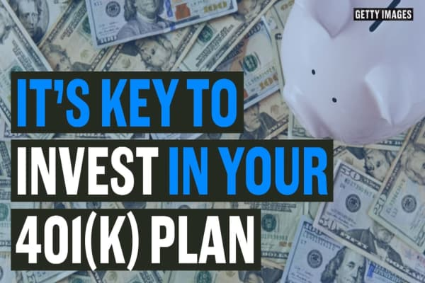 It's key to invest in your 401(k) plan