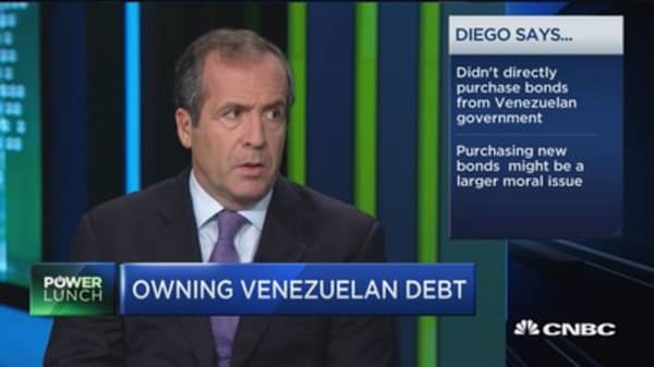 The ethics of owning Venezuelan debt