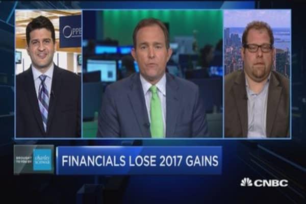 Trading Nation: Financials lose 2017 gains