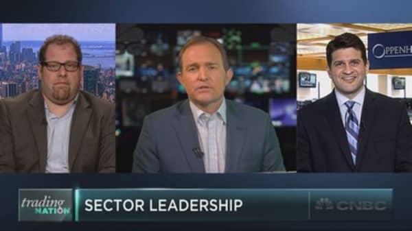 Unusual market leadership