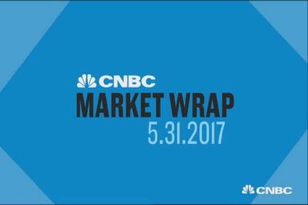 Major indexes close lower Wednesday as financials are pressured by inflation concerns