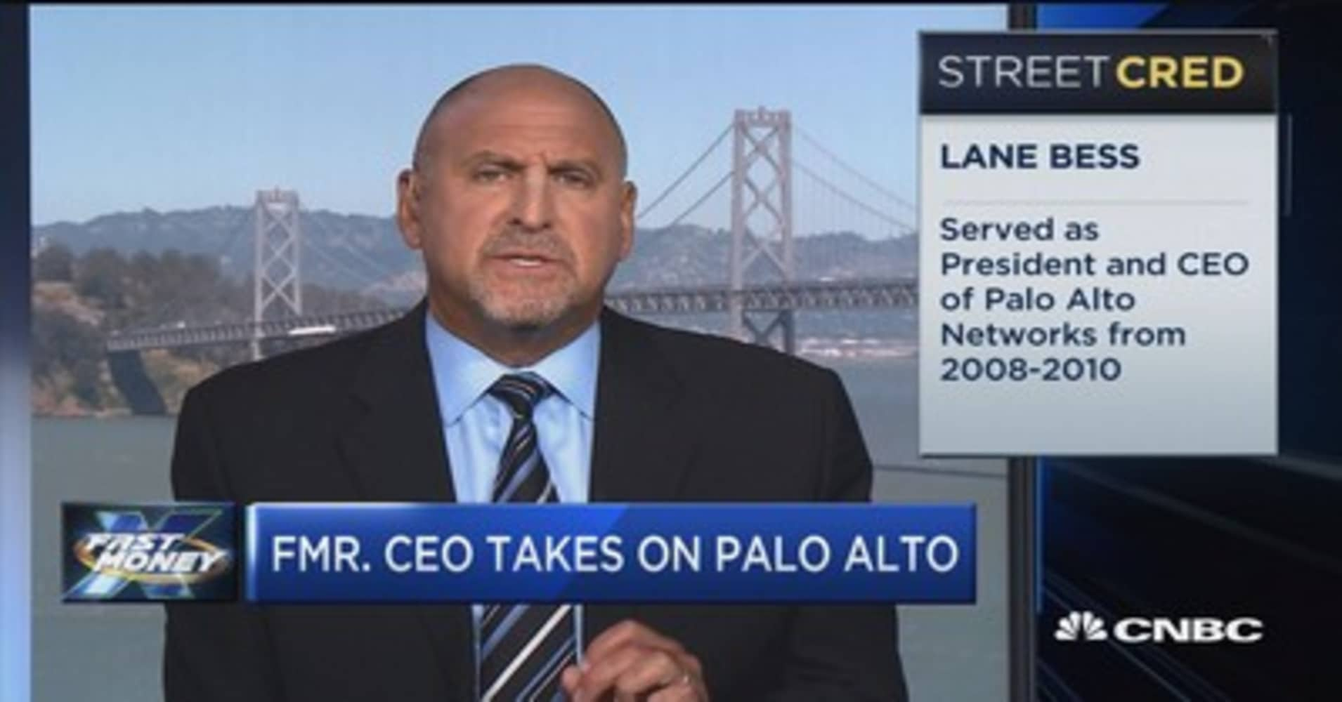 Palo alto networks stock jumps 13 percent as revenue and profit former palo alto ceo has some choice words for his former employer biocorpaavc
