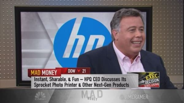HP Inc CEO: Intern helped spur 'birth of a new category' in printing