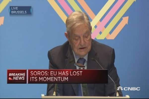 EU needs to be radically re-invented: Soros