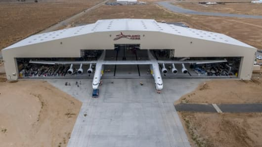 Stratolaunch is based at the Mojave Air & Space Port, California