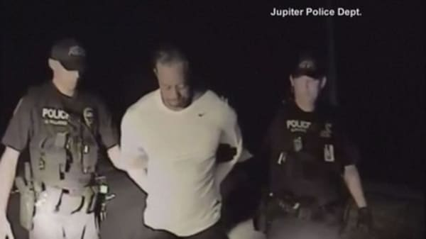 Tiger Woods' DUI arrest caught on police dashcam