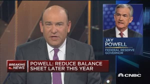 Fed's Powell: Appropriate to gradually raise rates