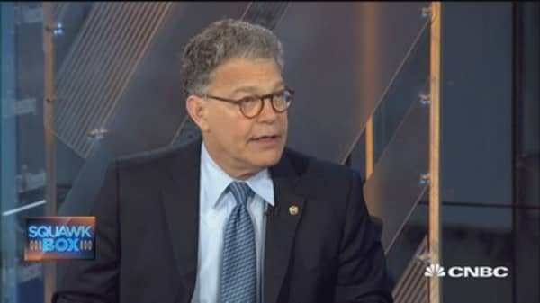 Sen. Franken: I condemned Kathy Griffin's conduct immediately