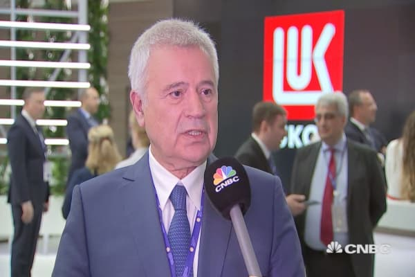Lukoil CEO: What OPEC, non-OPEC are doing right now is right