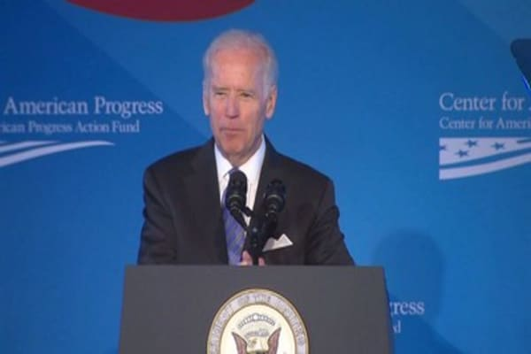 Is new PAC Joe Biden's last act in politics or first step towards 2020?