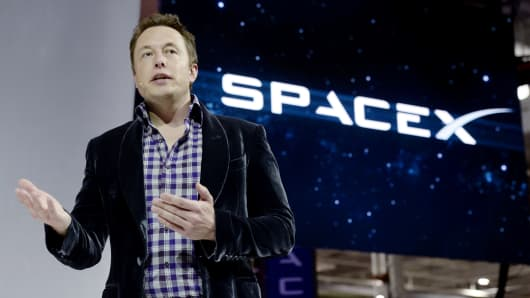 Elon Musk, founder and CEO of SpaceX