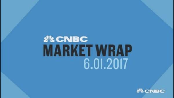 Major market indexes post record close Thursday
