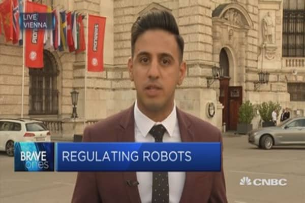 Could taxing robots be in store?