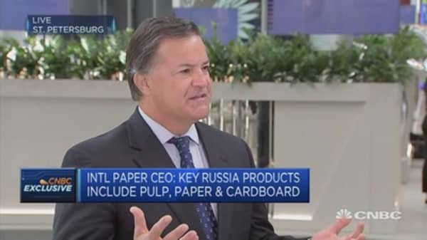 Reducing environmental footprint business as usual: International Paper CEO