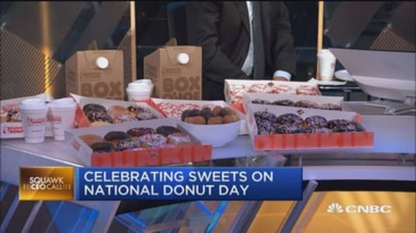 Happy National Donut Day: Dunkin' CEO
