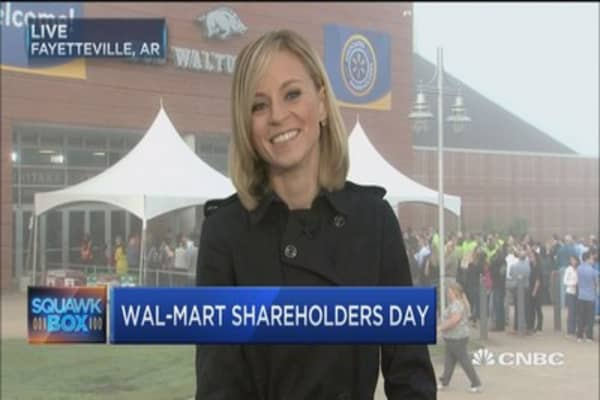 Wal-Mart's shareholders day sprinkled with surprises