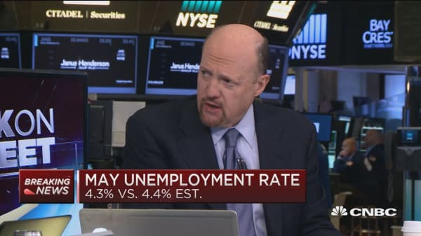 Bond market was right about jobs: Cramer