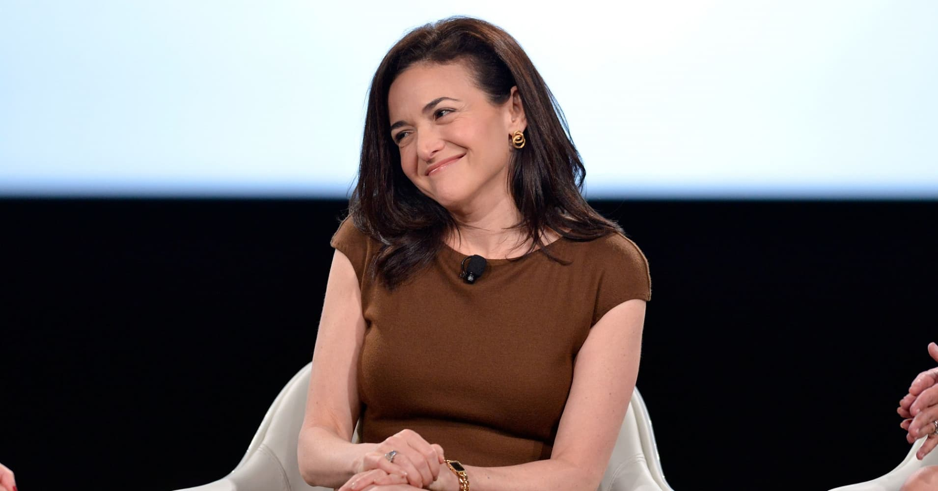 Facebook COO Sheryl Sandberg at 2017 MAKERS Conference