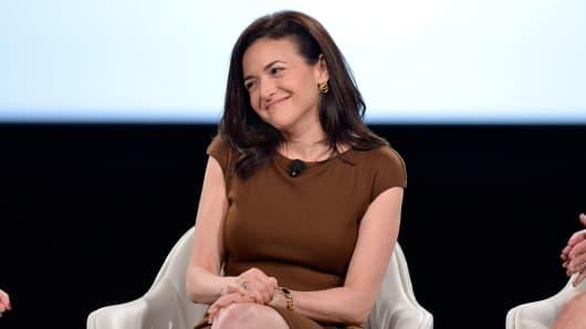 Facebook COO Sheryl Sandberg at 2017 MAKERS Conference