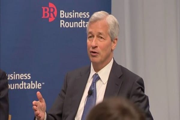 JPMorgan's Dimon says disagrees with Trump decision to quit climate deal, but 'we have a responsibility to engage our elected officials'