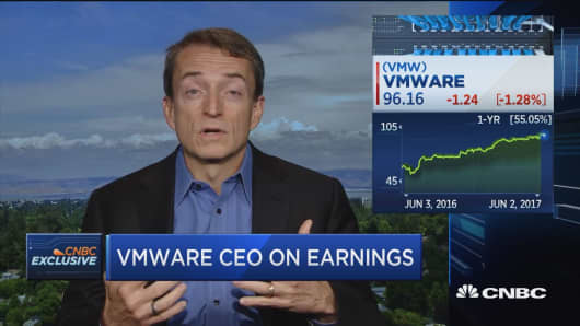 VMware CEO: Tech is breaking out of tech