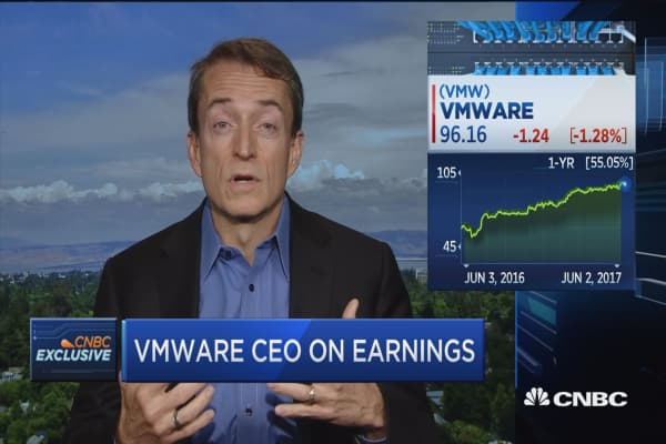 VMware CEO: Tech is breaking out of tech