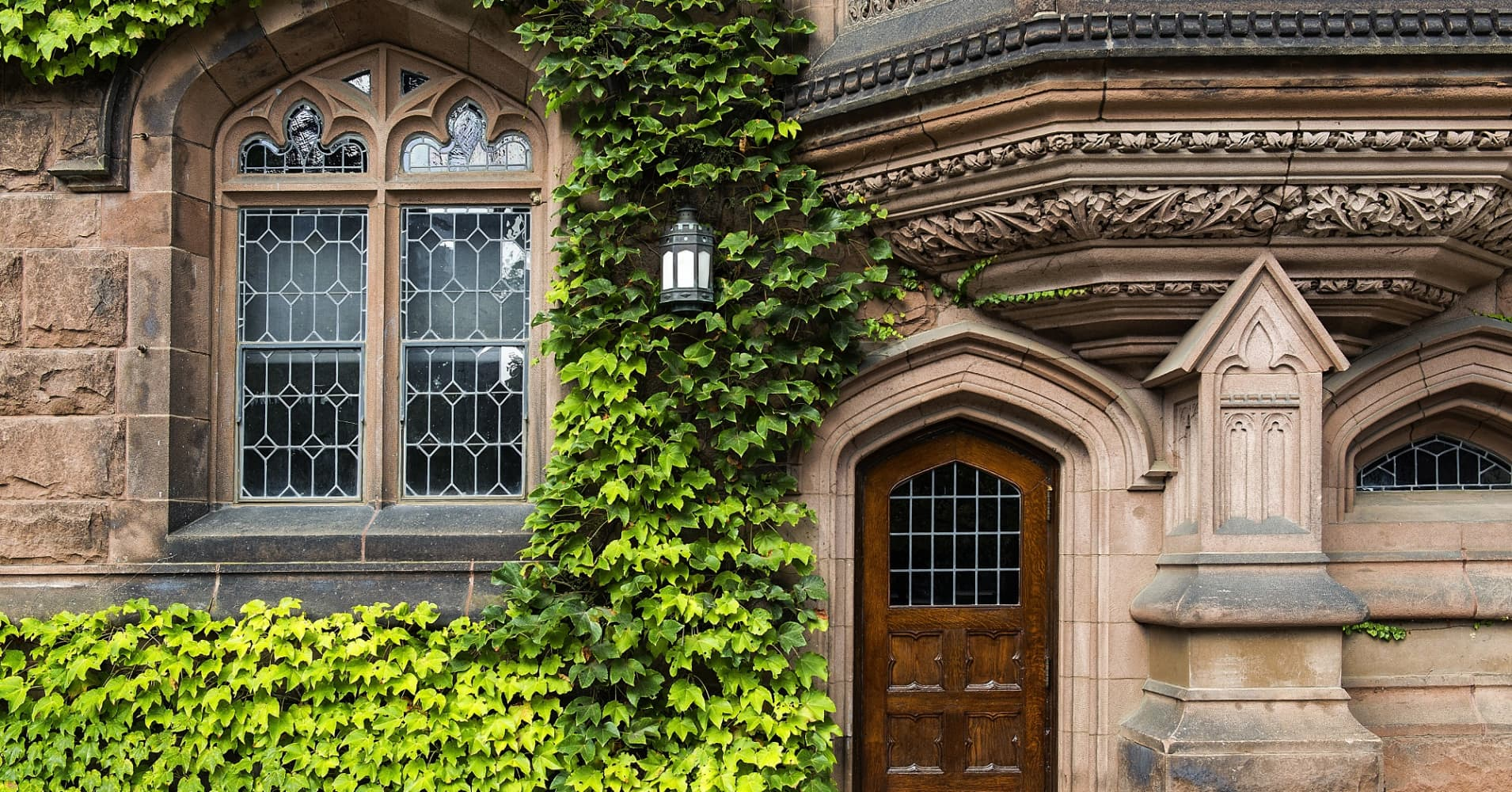Ivy League architecture at Princeton University.