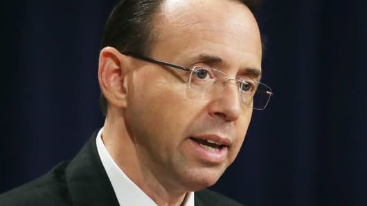 Rod Rosenstein approved surveillance of Trump associate Carter Page