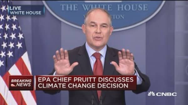 Pruitt: Accord cost us a substantial amount of money