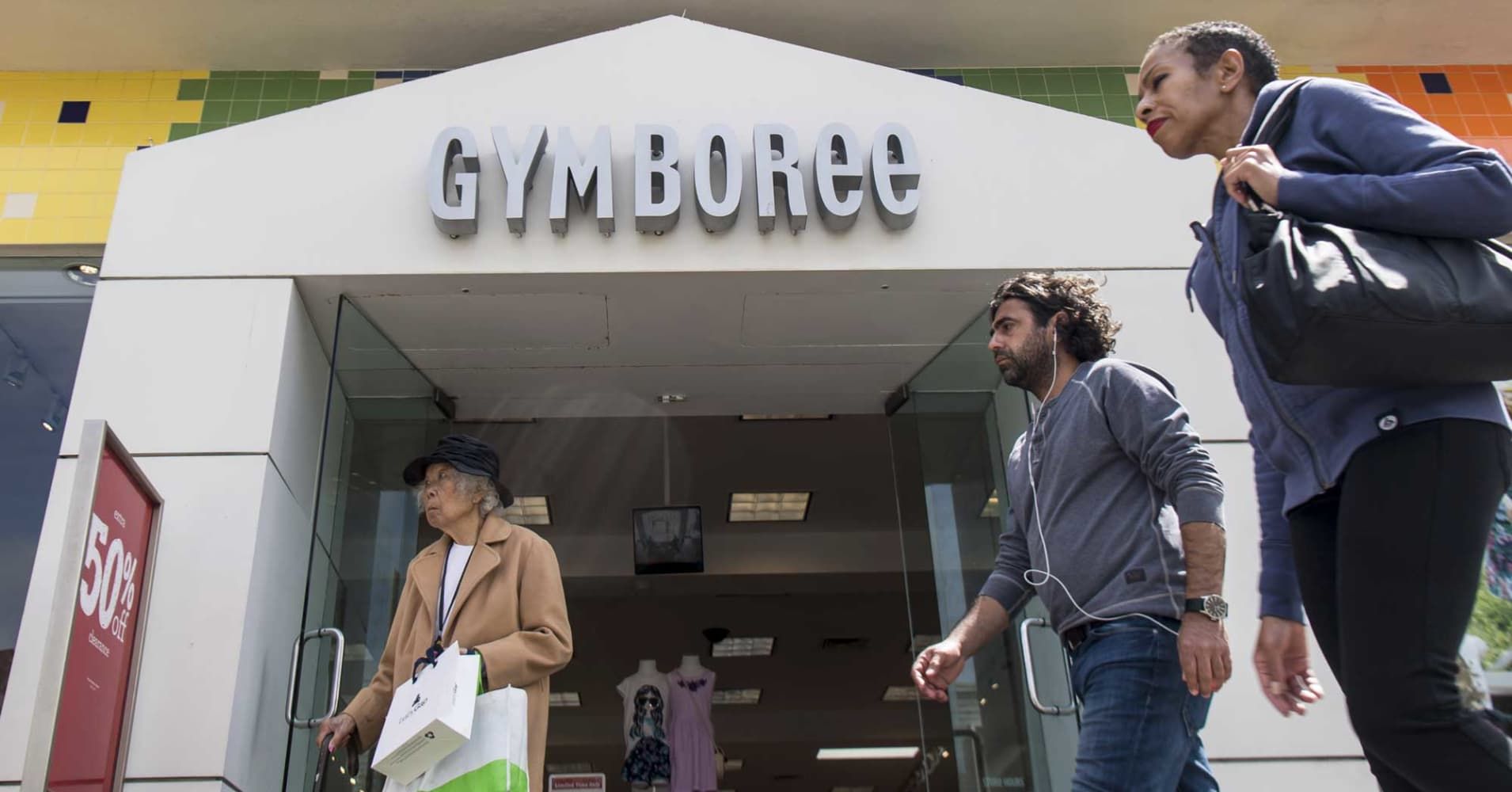 Gymboree is reportedly shopping for bankruptcy loan as it prepares second Chapter 11 filing