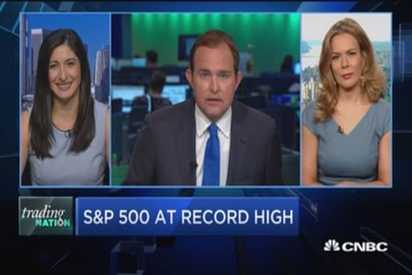 Trading Nation: S&P 500 record highs