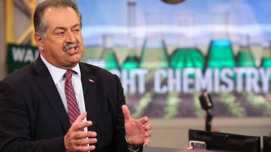 Andrew Liveris, CEO of Dow Chemical.