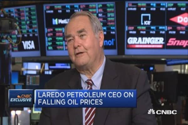 That agreement is one step in a very long process: Laredo CEO