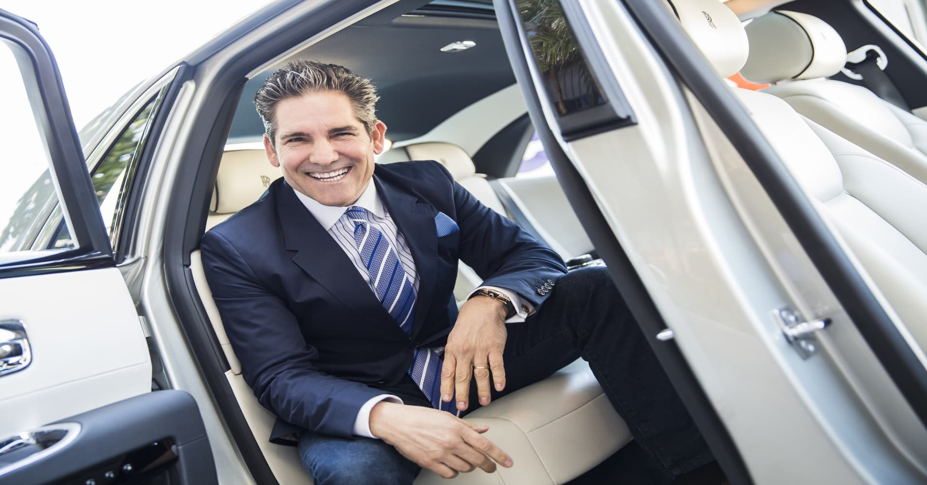 Self-made millionaire Grant Cardone's No. 1 rule for success