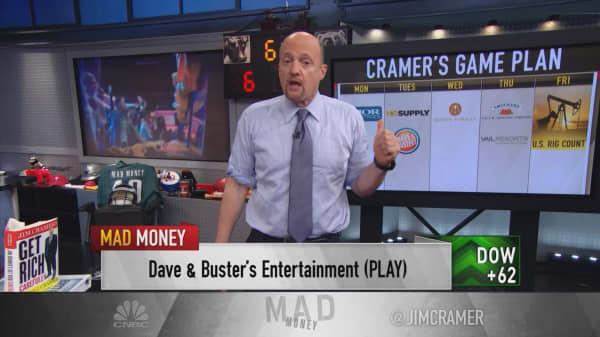 Cramer's game plan: Profits push the market past federal news