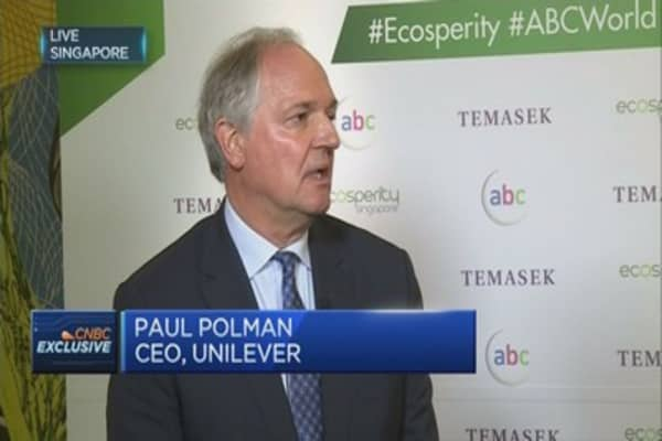 Unilever CEO on US' withdrawal from Paris agreement